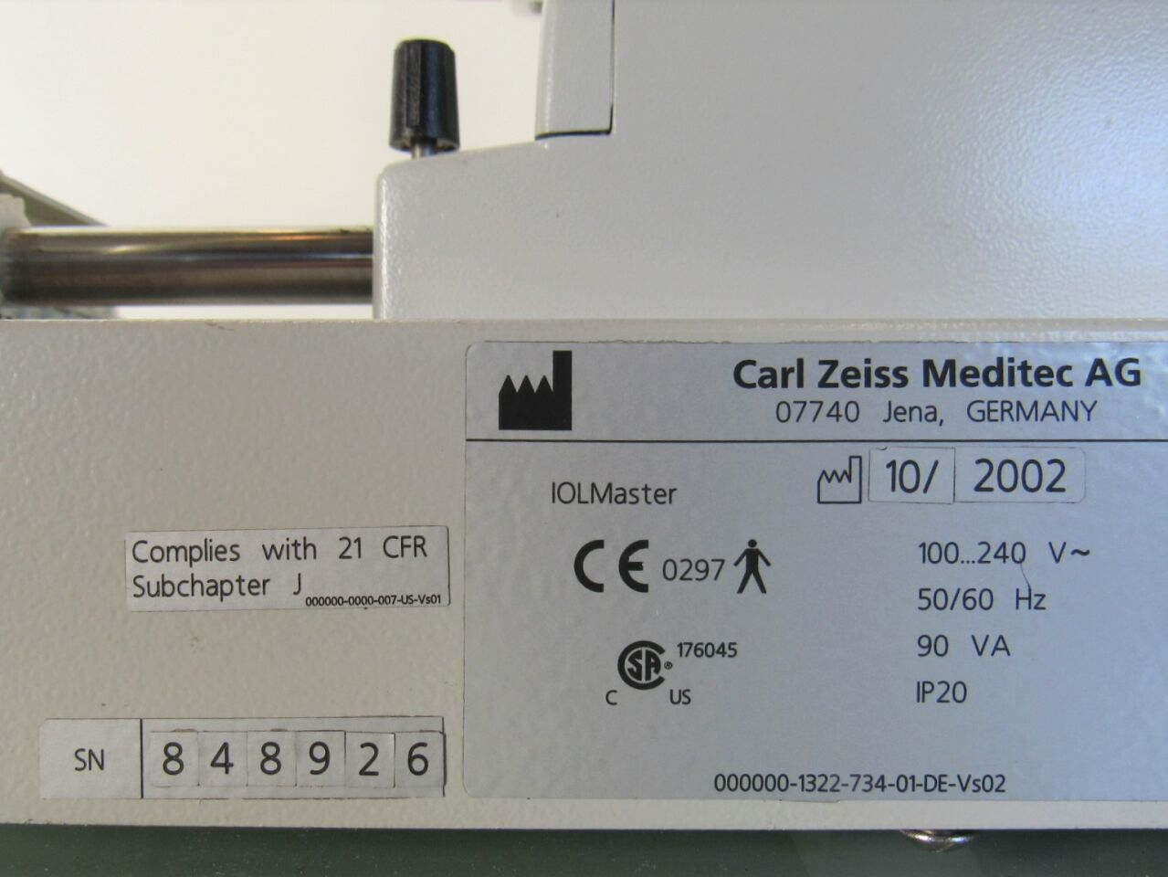 ZEISS IOL Master A-Scan