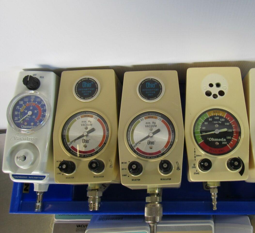 OHIO MEDICAL Various  - Lot of 9 Vacuum Equipment