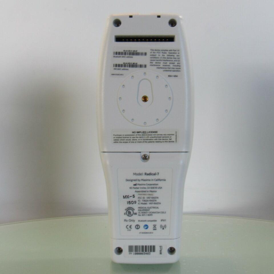 MASIMO Radical RDS-1 RAD 7   - Lot of 2 Oximeter - Pulse