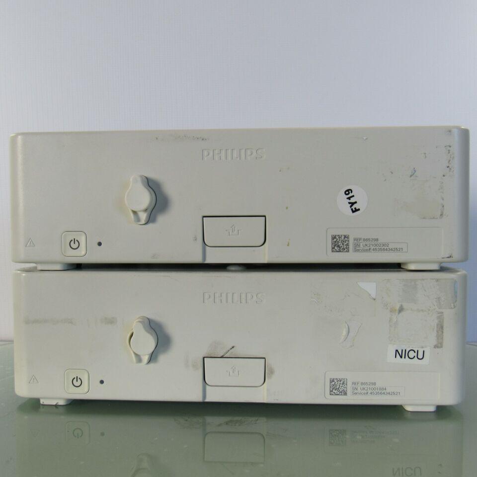 PHILIPS TCG10  - Lot of 2 Neonatal Monitor