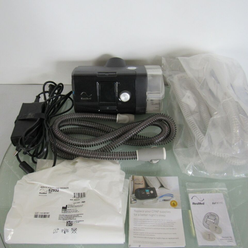 RESMED AirSense 10 AutoSet System + Spare Tubing X-Ray Tube