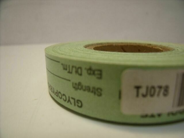 UNBRANDED TJ078  GREEN GLYCOPYRROLATE LABELS
