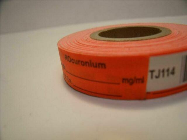 UNBRANDED TJ114  ORANGE ROCURONIUM