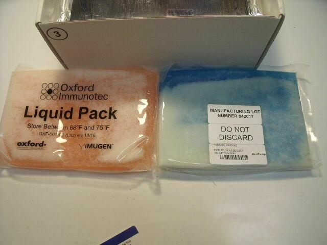 OXFORD DIAGNOSTIC LAB OXFORD IMMUNOTEC  OLID & LIQUID SPECIMEN PACKS