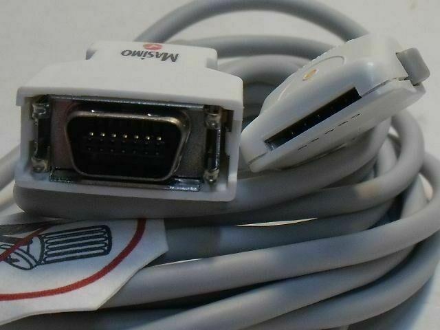 MASIMO PC08 LNOP PATIENT CABLE W/ LNOP SENSOR CONNECTOR