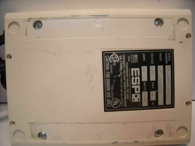 QC SPF12020D35  TEMPORARY POWER TAP AND TRANSIENT VOLTAGE SURGE SUPPRESSOR