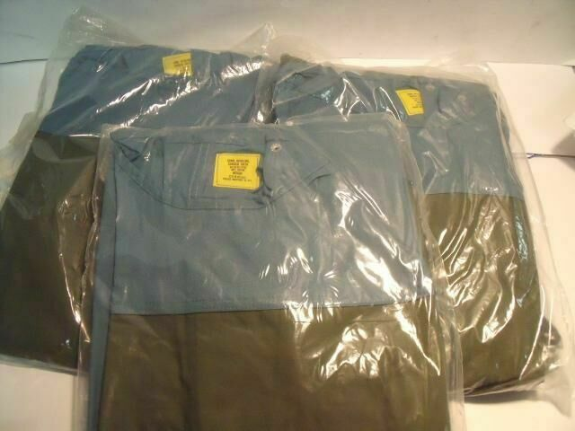 PHOENIX INDUSTRIES MEDIUM  LOT OF 3 OPERATING GREEN  SURGICAL GOWNS