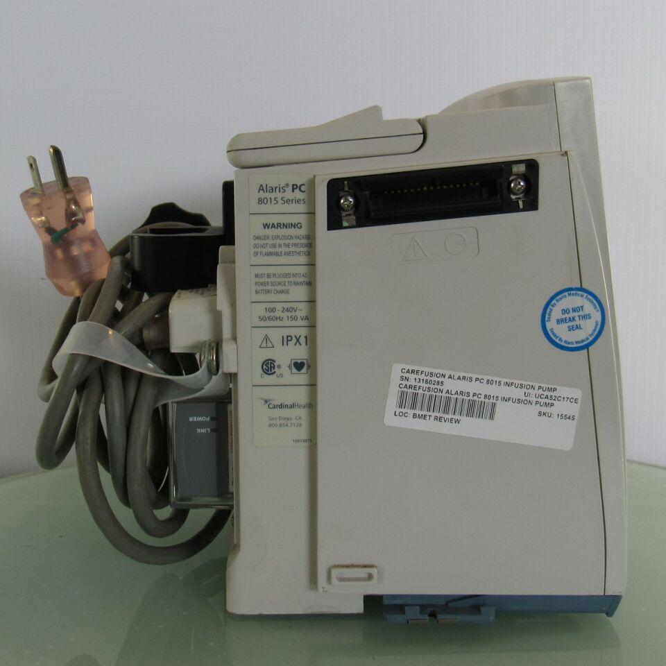 CAREFUSION Alaris PC 8015 Pump IV Infusion
