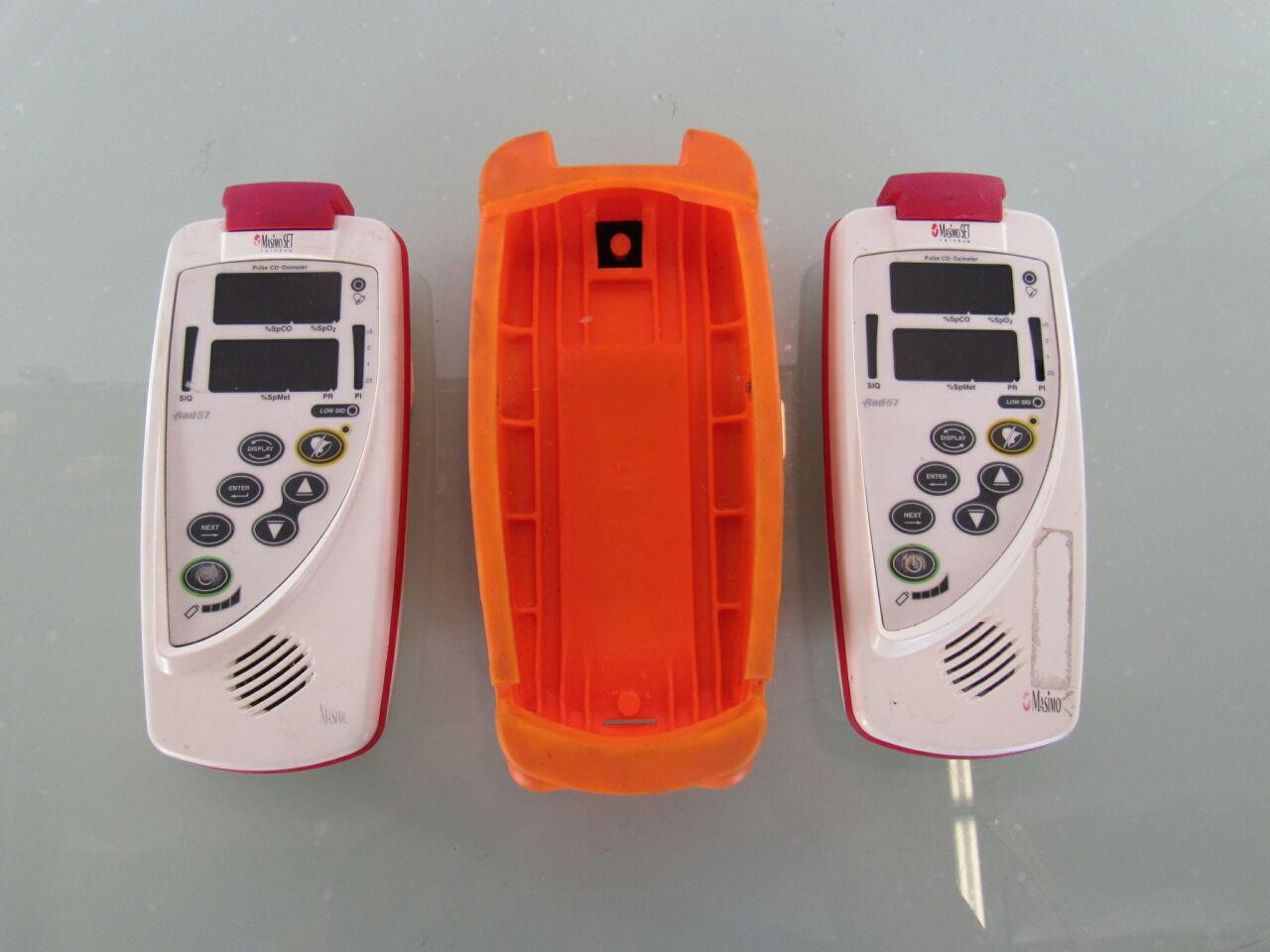 MASIMO RAD-57 RAD-87  - Lot of 2 Oximeter - Pulse