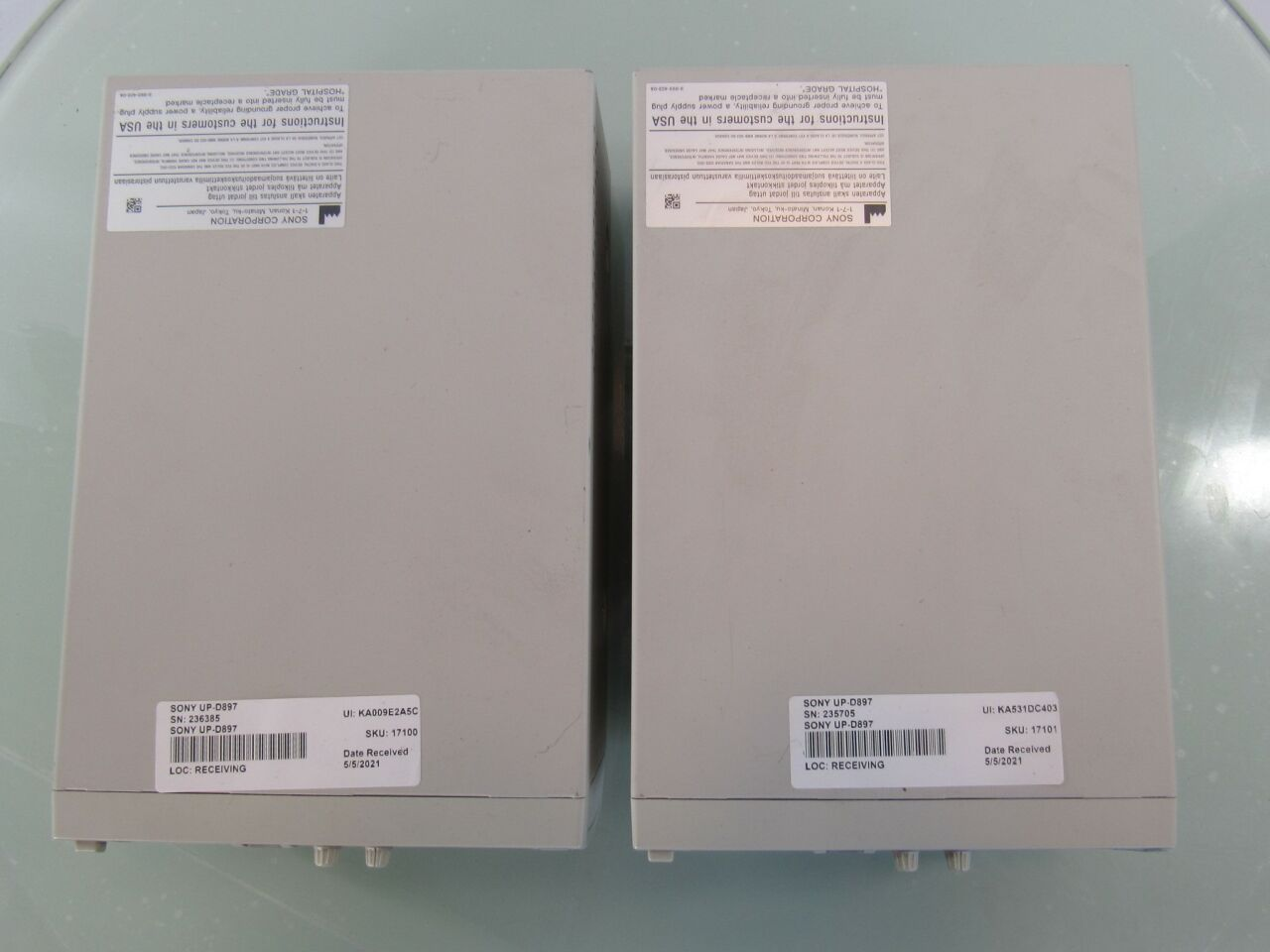 SONY UP-D897  - Lot of 2 Printer