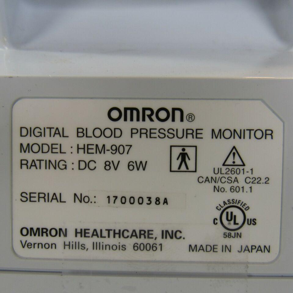 OMRON Intellisense HEM-907XL  - Lot of 3 Monitor