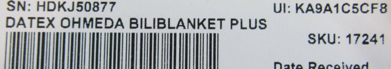 DATEX OHMEDA BiloBlanket Plus  - Lot of 2 Phototherapy Unit