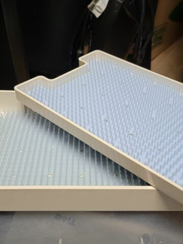 INTEGRA 3200200  with Lid  additional Tray and 2 silicone mats 7 x 11double layer Sterilizer