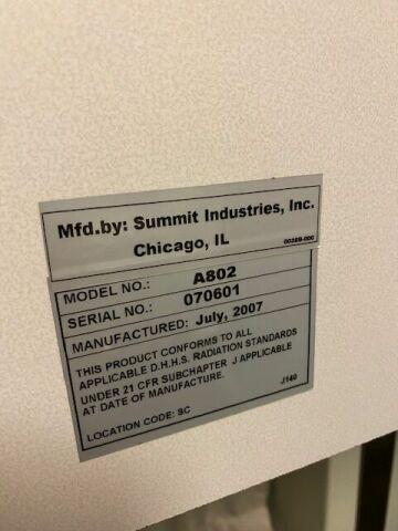 AMERICOMP Americomp summit  A802 High Frequency  fujifilmCR IR 355RU Chiropractic X-ray