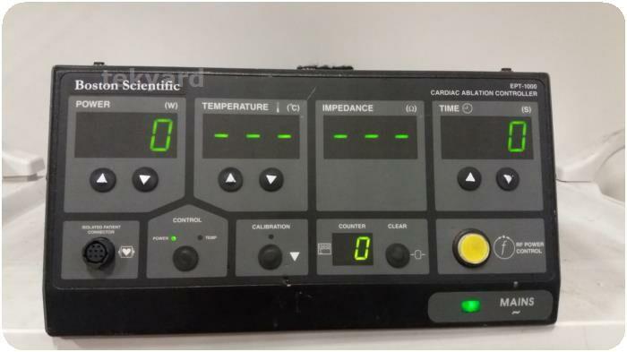BOSTON SCIENTIFIC EPT-1000 CARDIAC ABLATION CONTROLLER Electrosurgical Unit