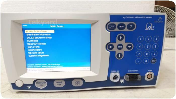 HOSPIRA O2 Plus 2 SO2/Continuous Cardiac Output Computer Ultrasound Cardiac