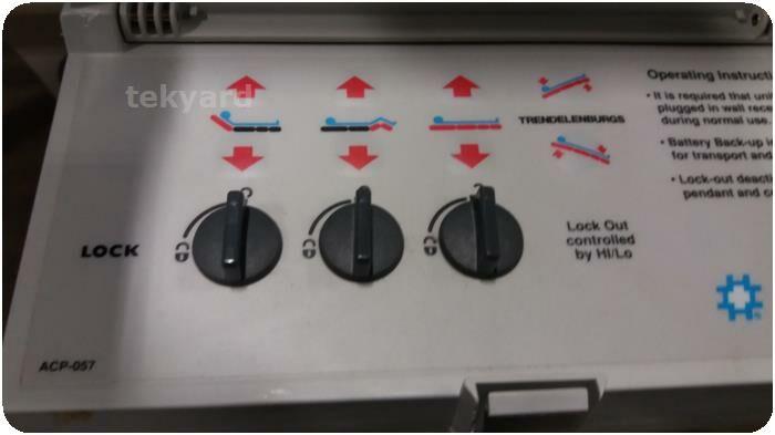 HAUSTED 4E2-ELECTRIC HORIZON SERIES STRETCHER /  Gurney