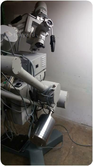 CARL ZEISS OPMI CS-NC Surgical Microscope & Superlux 300 Fiber Optic Illumination System Microscope