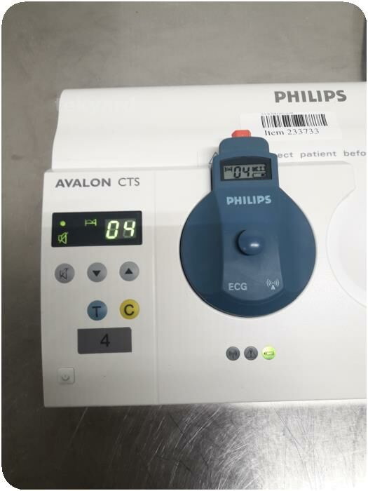 PHILIPS Avalon CTS M2720A Toco Charger Medical Transducer Cordless Station