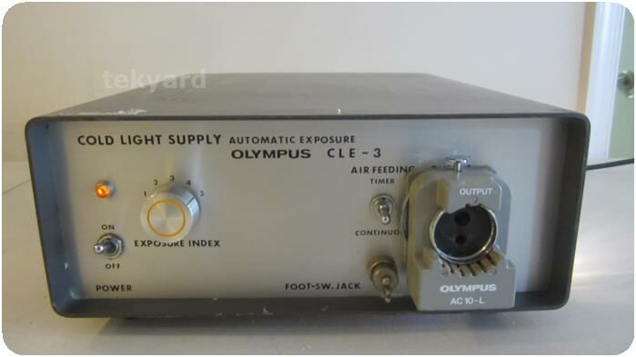 OLYMPUS CLE-3 Light Source