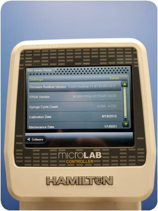 HAMILTON 600 Series MicroLab Syringe Pump IV Infusion
