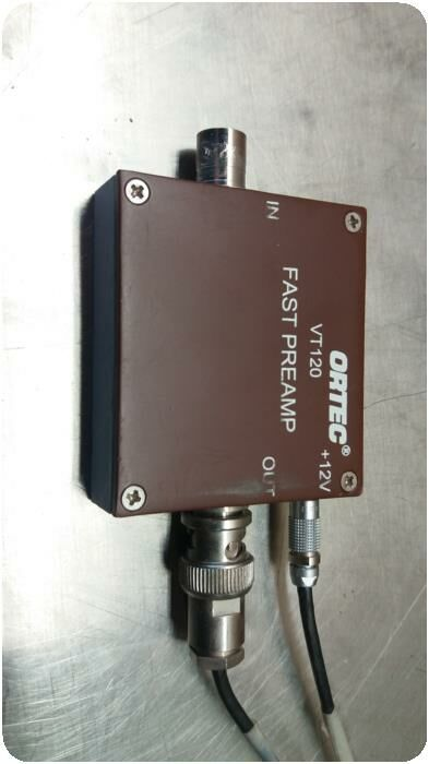 ORTEC VT120 Fast Timing Preamp Stress Test