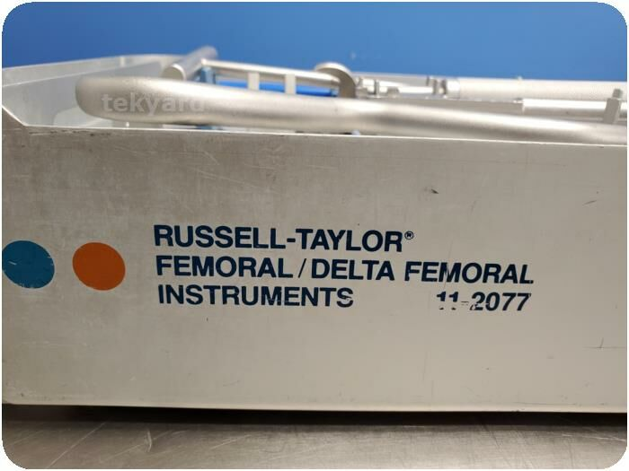 SMITH  NEPHEW RICHARD 11 2077 Russell-Taylor Delta Femoral Instrument Set