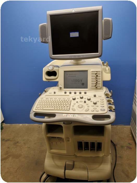 GE MEDICAL Logiq 9 Ultrasound System