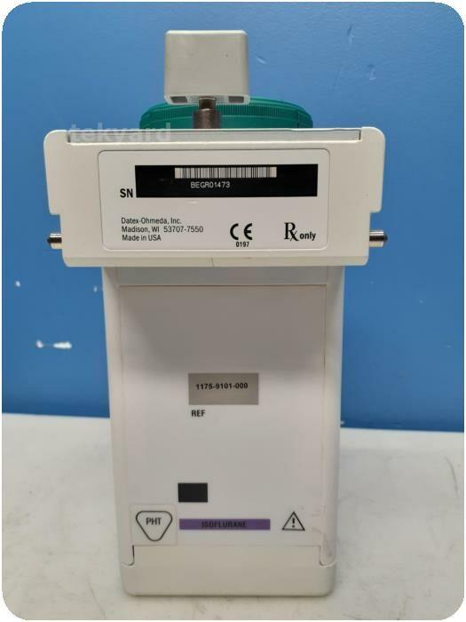 DATEX OHMEDA Tec 7 Isoflurane Anesthesia Vaporizer