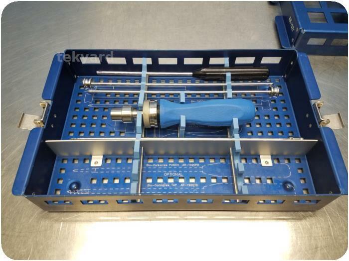 Arthrex Bio-FASTak and Bio-Corkscrew AR-1327 Instrumentation Set