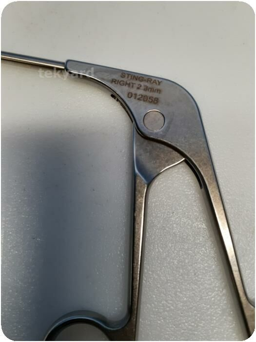 ACUFEX 12058 Sting Ray Right 2.3mm Ortho Arthroscopy