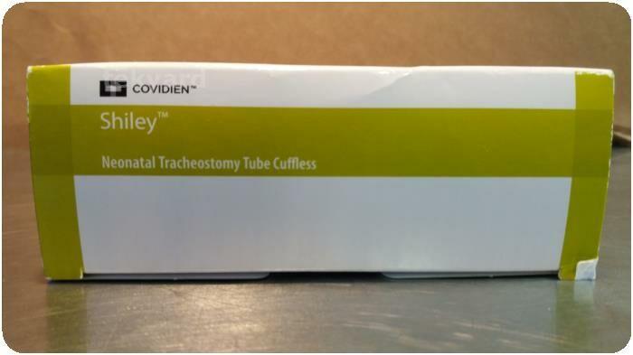 COVIDIEN Shiley 3.0 NEO Neonatal Tracheostomy Tube Cuffless