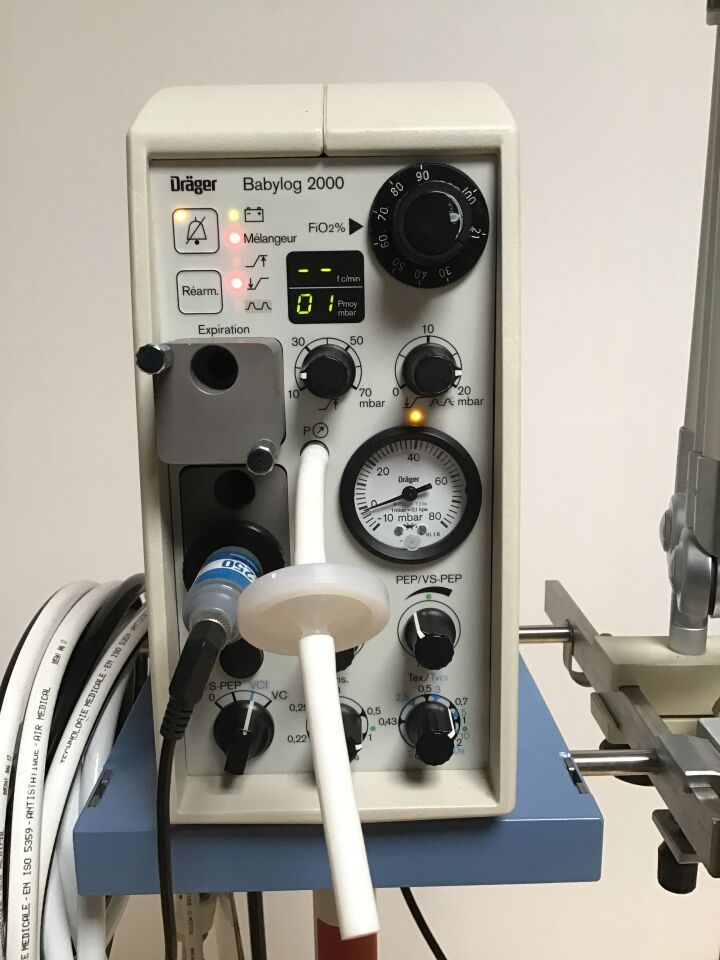 DRGER MEDICAL Babylog 2000 Neonatal Ventilator Ventilator