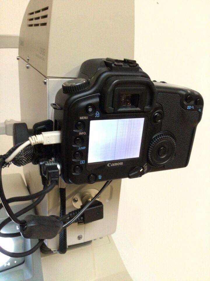 CANON CR-DGI Fundus Camera