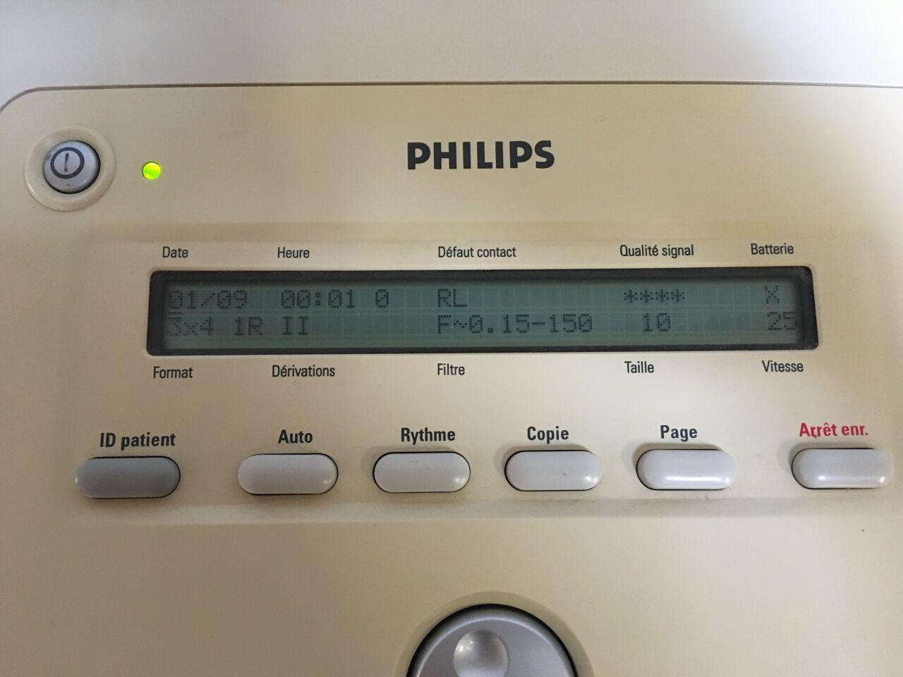 PHILIPS Page Writer trim 1 ECG unit