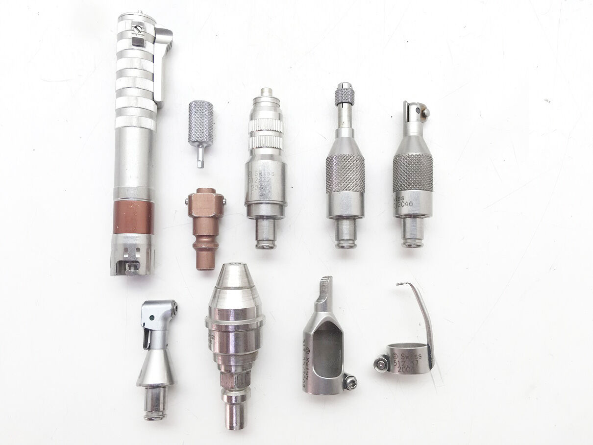 SYNTHES Swiss 512.10 Set of Mini Chuck Drill