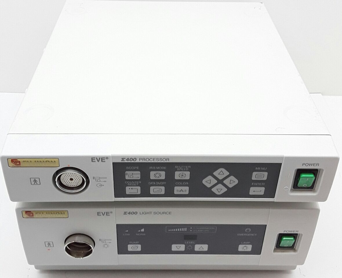 FUJINON EVE E-400 Video Processor and Lightsource
