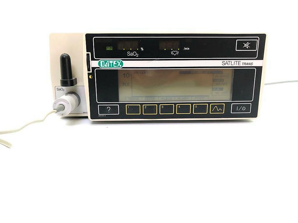 DATEX Satlite trans Oxygen Monitor