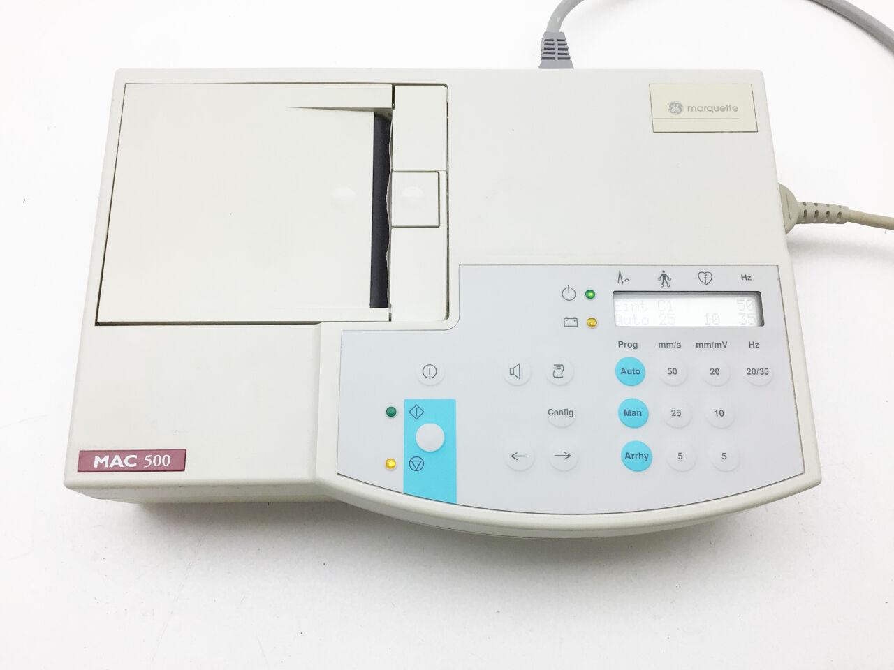 GENERAL ELECTRICS MAC 500 ECG unit