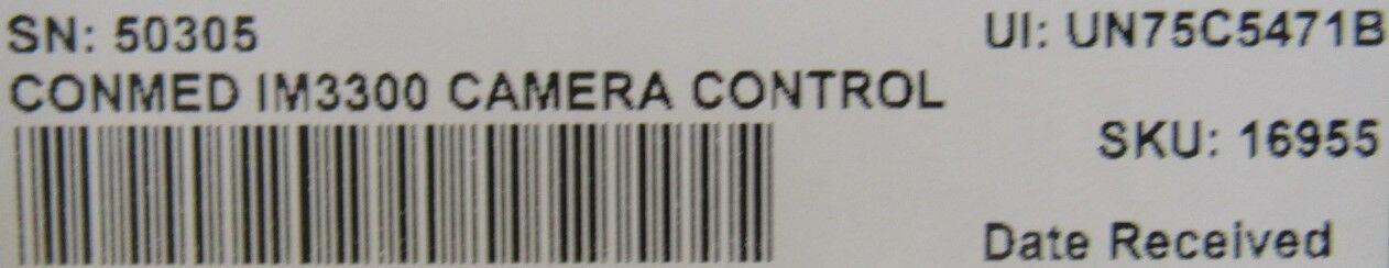 CONMED IM3300  Control for O/R Camera