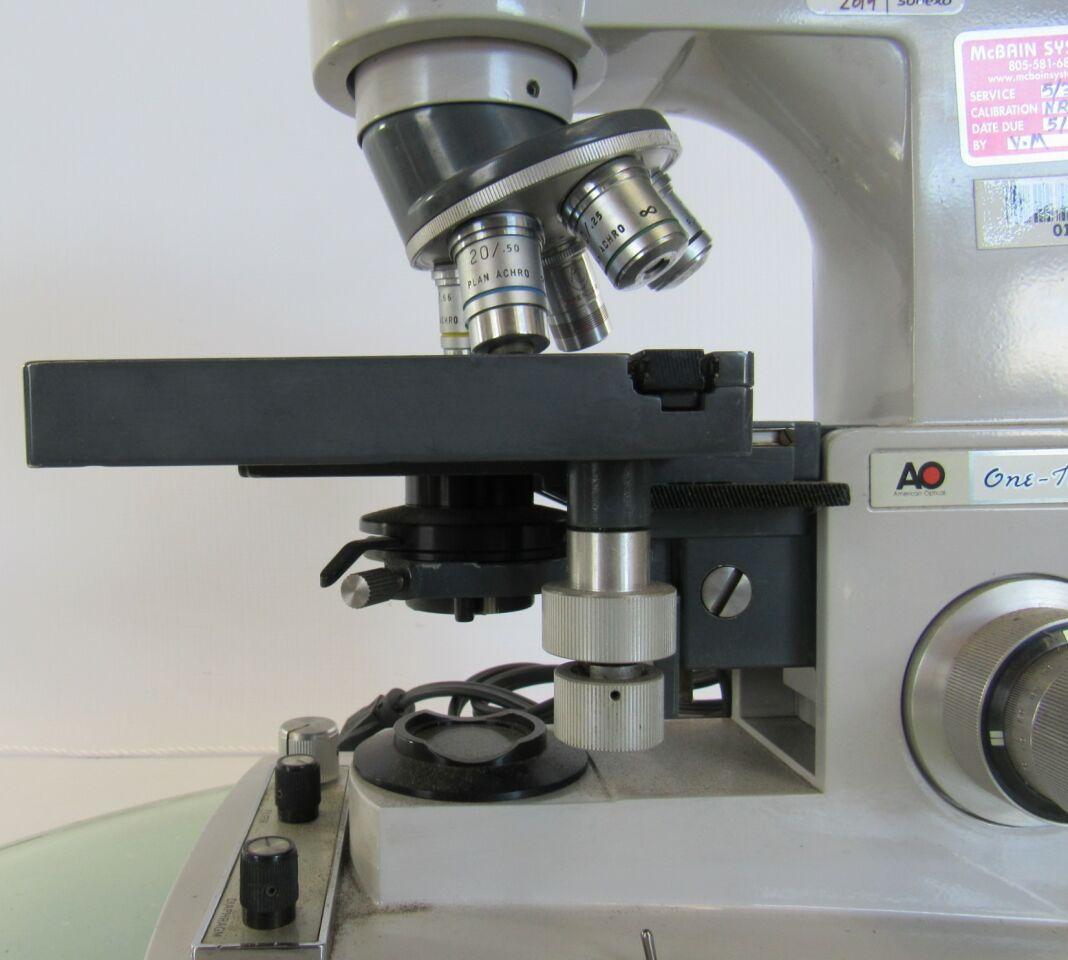 AO SCIENTIFIC  Illuminator 1130A  Microscope