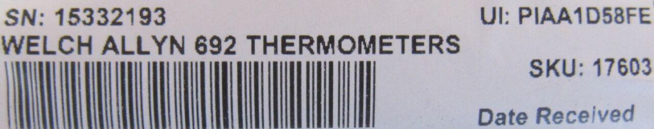 WELCH ALLYN  COVIDEIN SureTemp  Plus / Filac 3000EZ  - Lot of 2 Thermometer