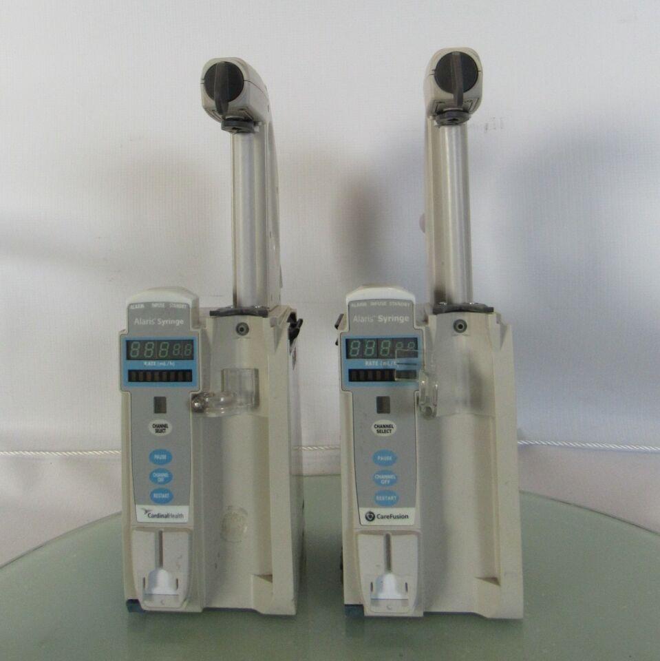 CAREFUSION Alaris PC 8110  - Lot of 2 Pump IV Infusion