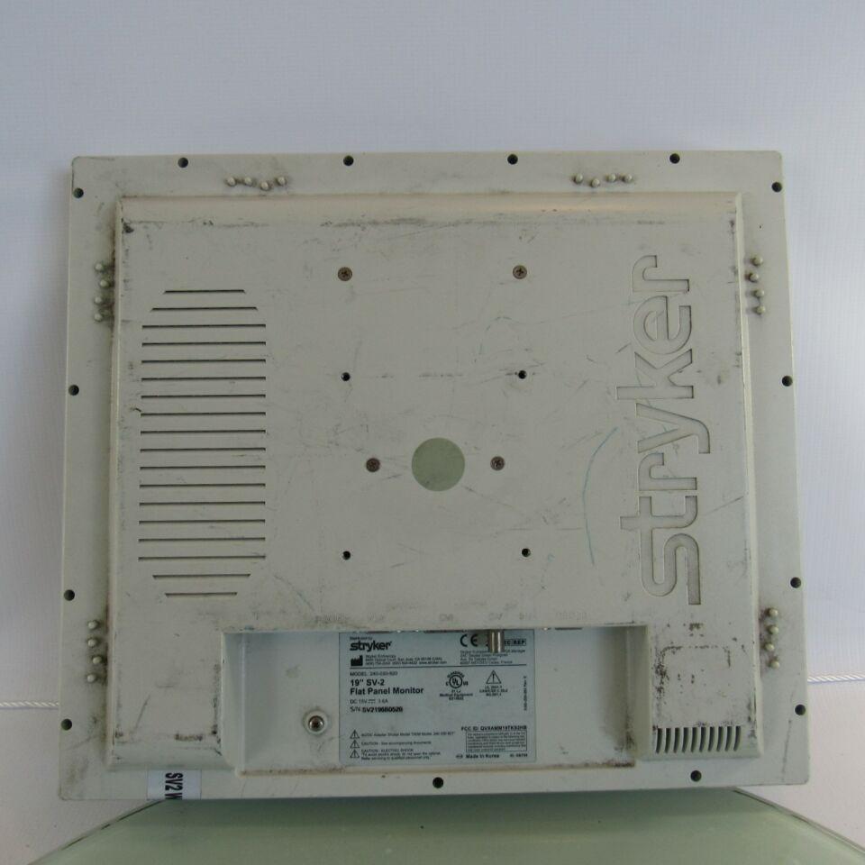 STRYKER 19  SV-2 Flat Panel Display Monitor