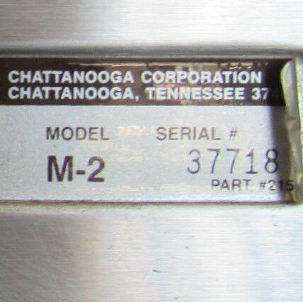 CHATTANOOGA M2 Hydrocollator