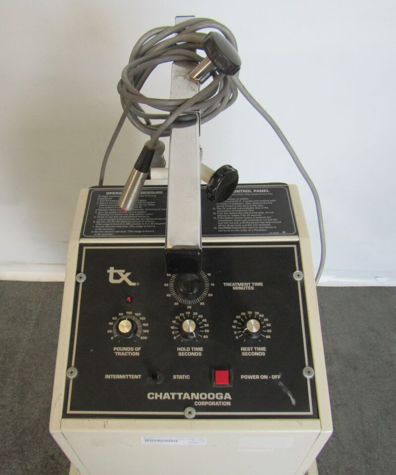 CHATTANOOGA TX-7 Dial Control Panel  Traction Unit
