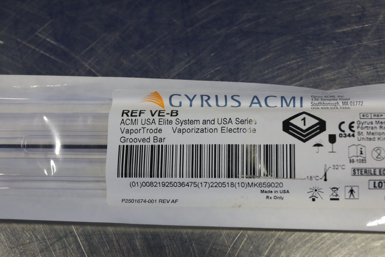 GYRUS ACMI VE-B VaporTrade Vaporization Electrode Grooved Bar