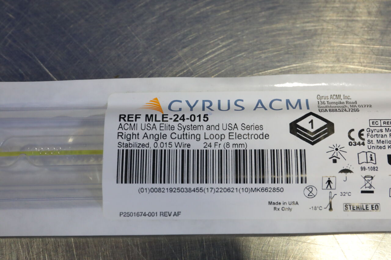 GYRUS ACMI MLE024-015 Right Angle Cutting Loop Electrode