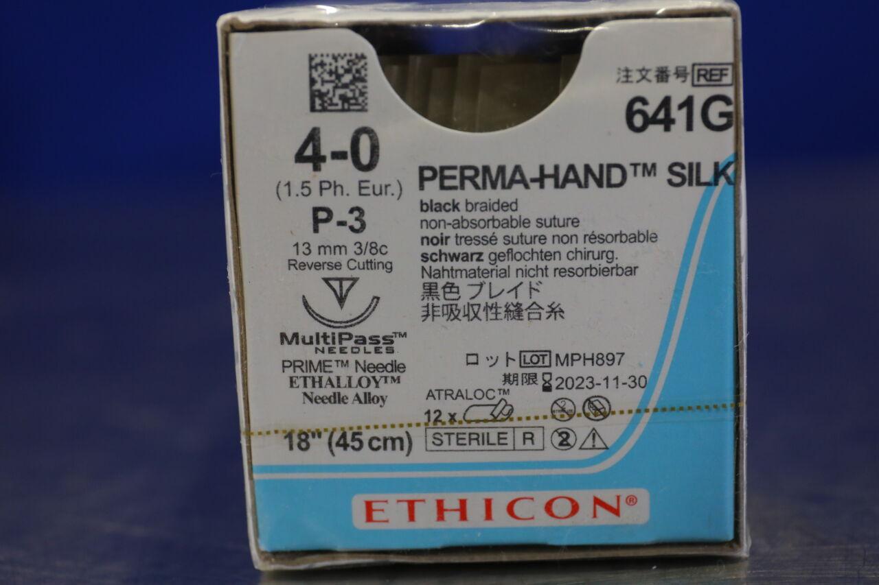 ETHICON Perma-Hand Silk Sutures