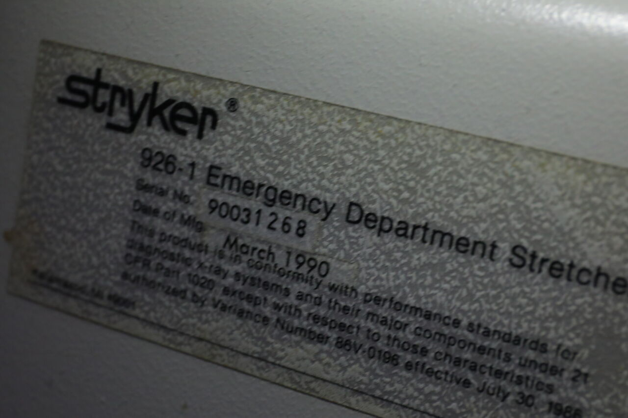 STRYKER 926-1 Stretcher
